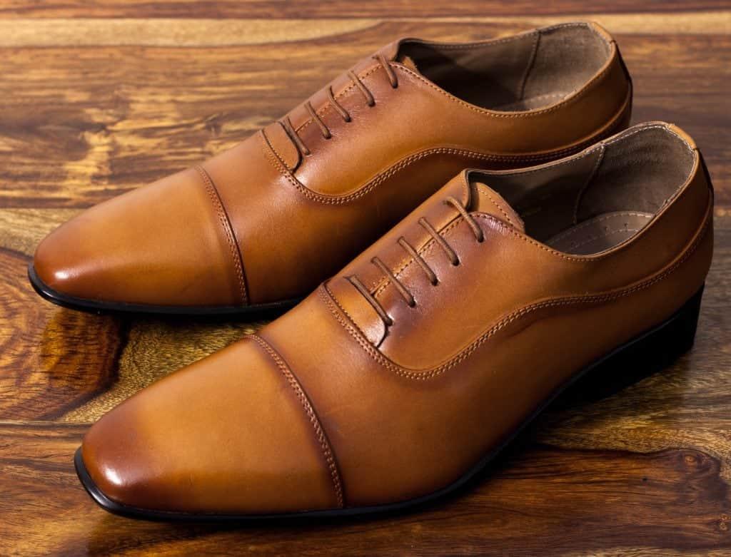 Cobblestone full grain leather shoes oxfords
